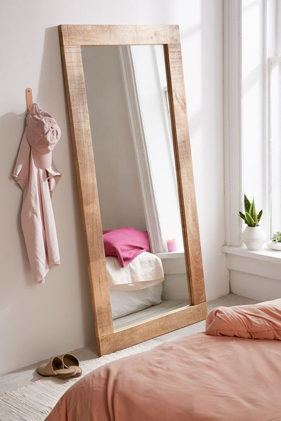 length mirror for small bedroom