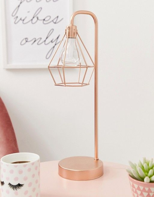 rosegold table lamp