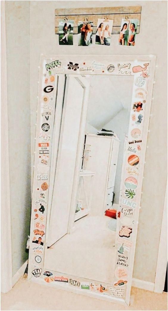 mirror bedroom decoration