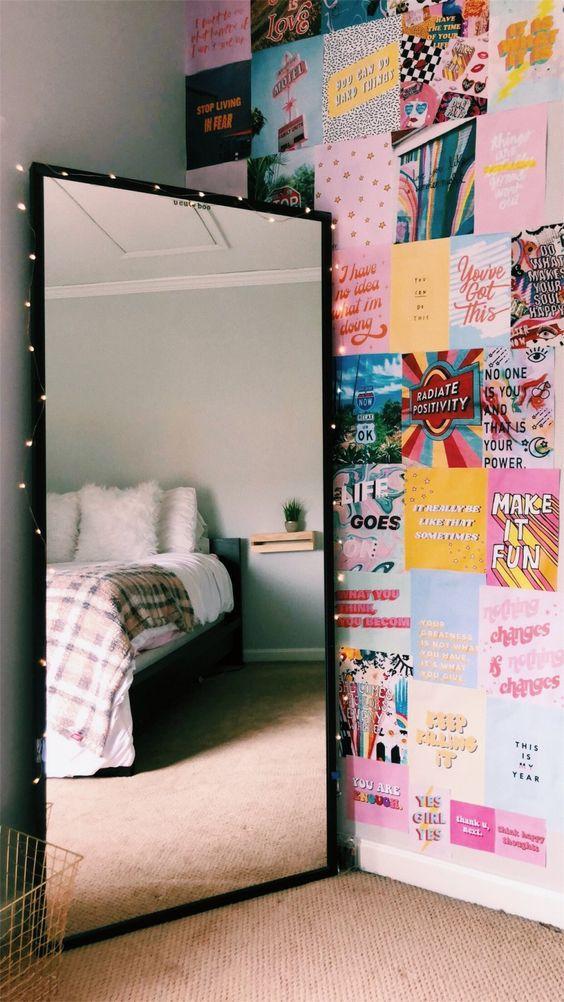 teen room wall decoration