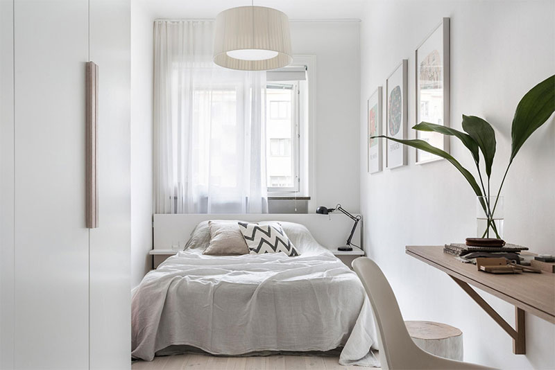 7 Great Tips In Making The Small Bedroom Feel More Spacious And Cozy Simdreamhomes