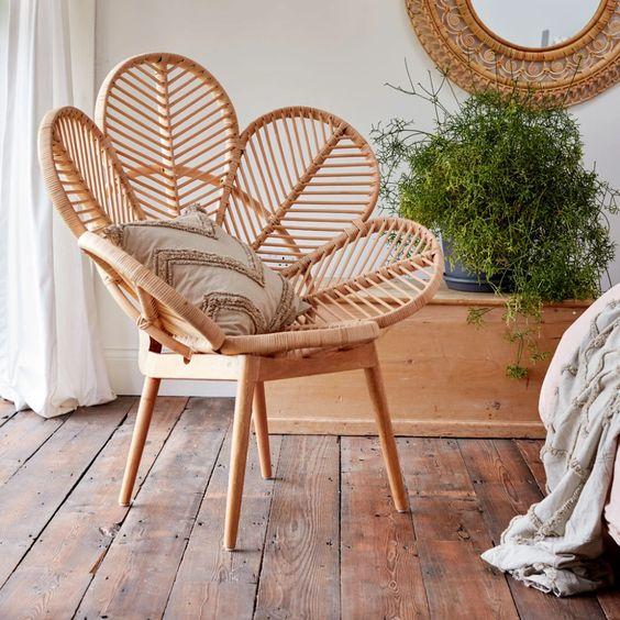 attractive rattan chair