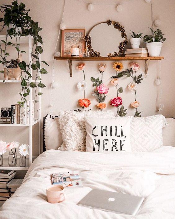 cozy summer bedroom decors