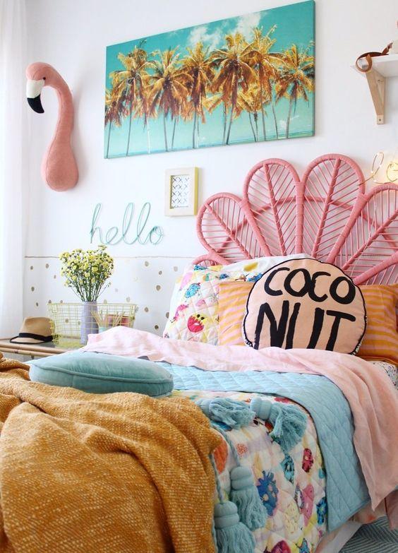 beautiful summer bedroom