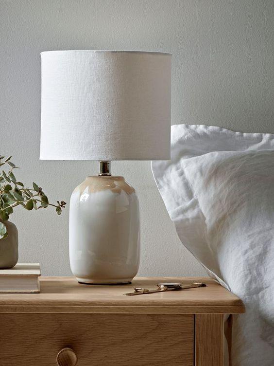 beautiful bedside lamp for cozy bedroom