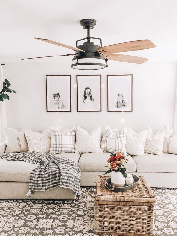 cozy couch decoration