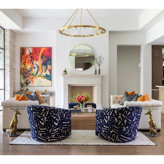 elegant living room decorations