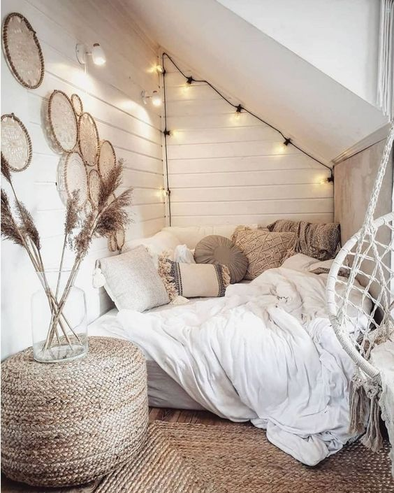 cozy bedroom loft