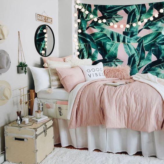 girly summer bedroom