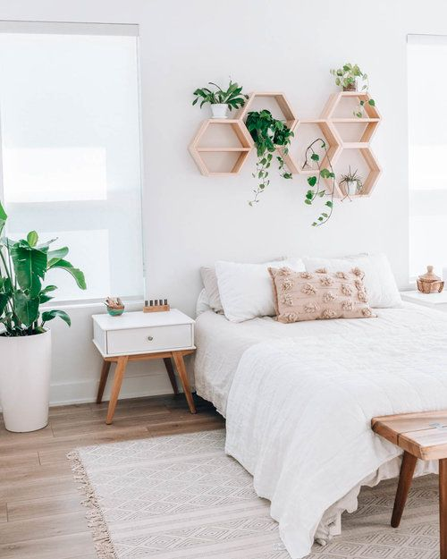green plants for fresh bedroom
