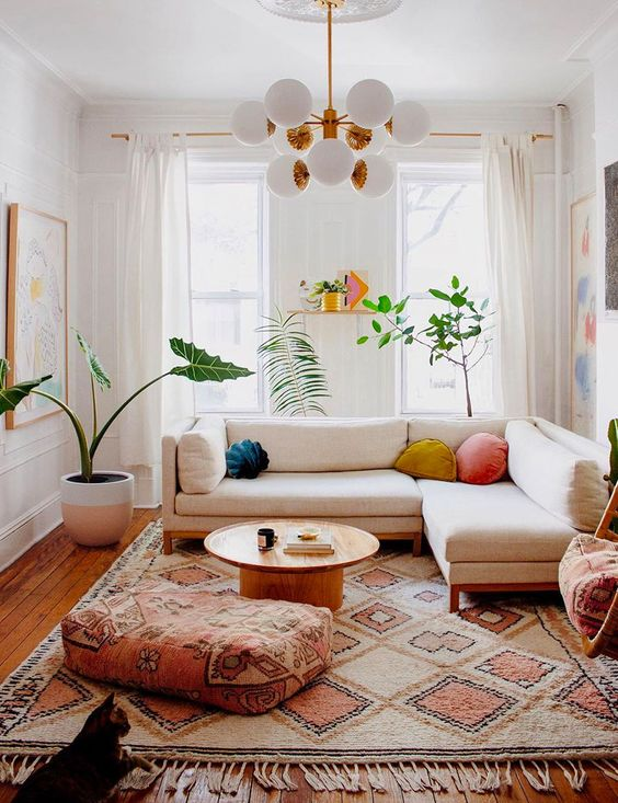 fresh and soothing living room tips