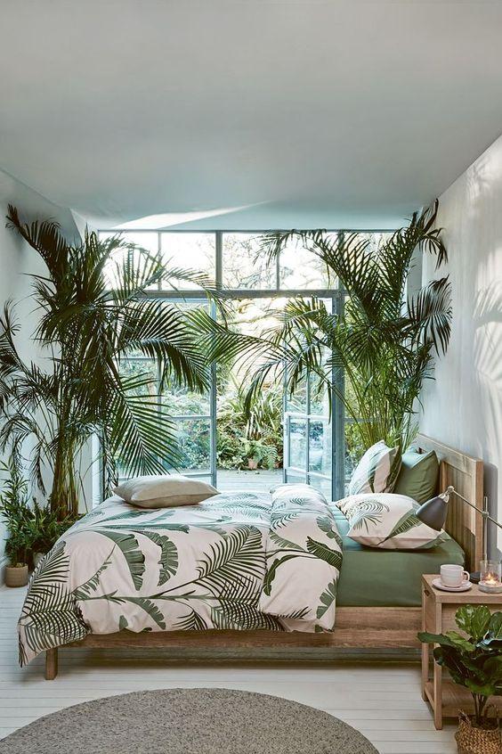 fresh summer bedroom
