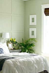 asparagus green bedroom