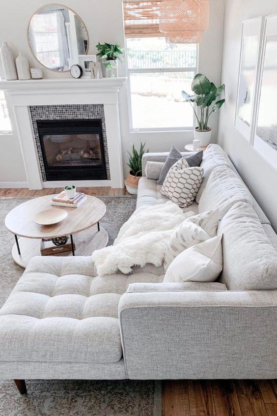 cozy and soothing living room