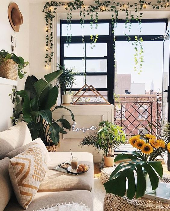 fresh summer living room decor
