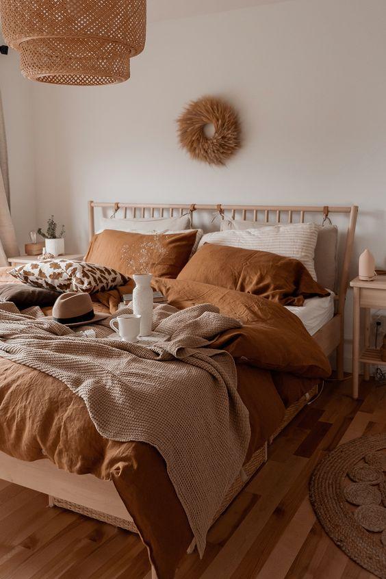 autumn bedroom design