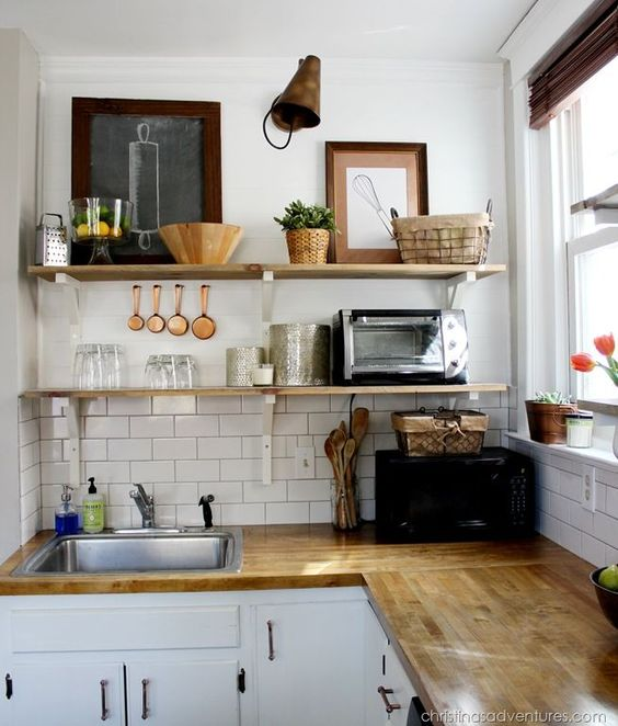 beautiful simple kitchen decor