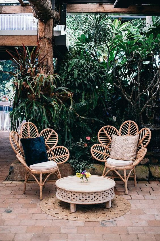 terrace rattan chair
