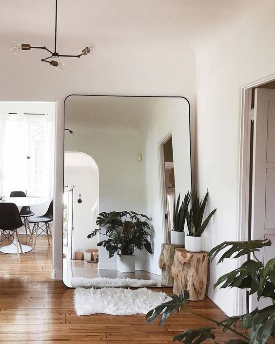 big mirror for small room