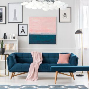sweet and cheerful living room