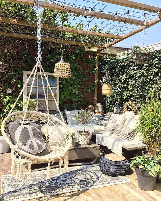 terrace hanging chair