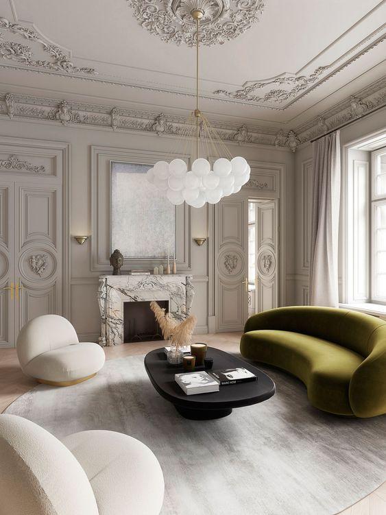 beautiful simple luxury living room