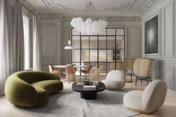simple luxury living room