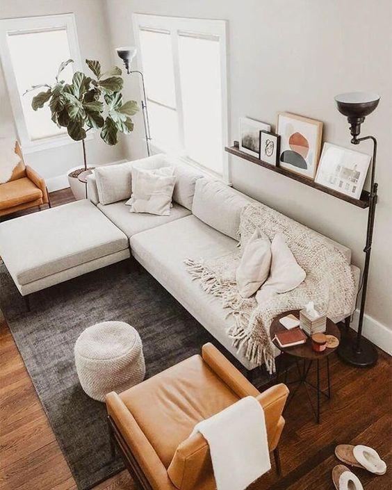 fresh simple living room