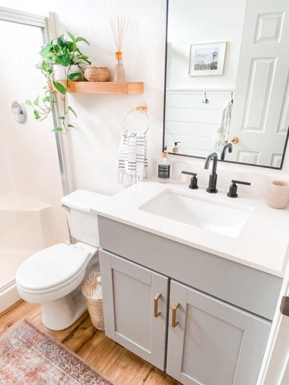 simple bathroom decors