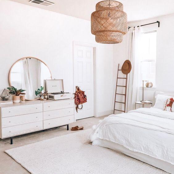 beautiful minimalist bedroom