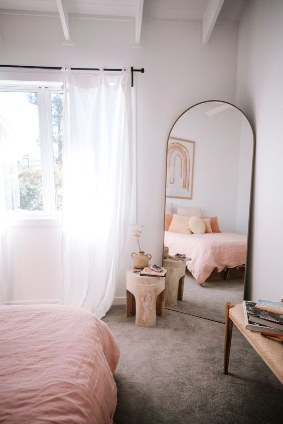 full-length mirror for the bedroom decors