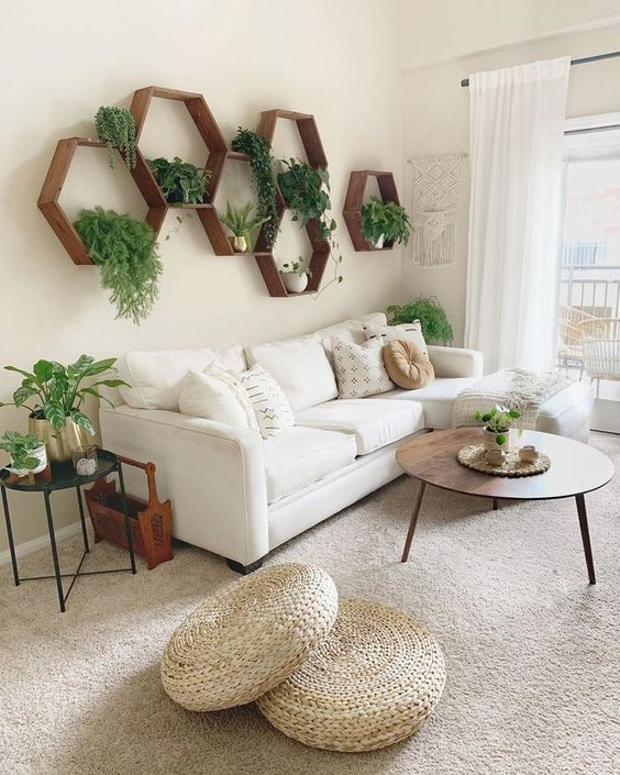 beautiful simple living room