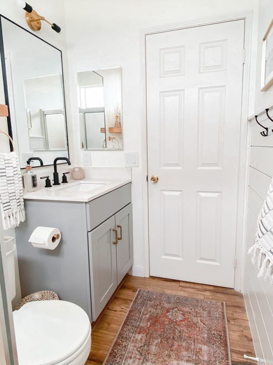 wash basin table for simple bathroom