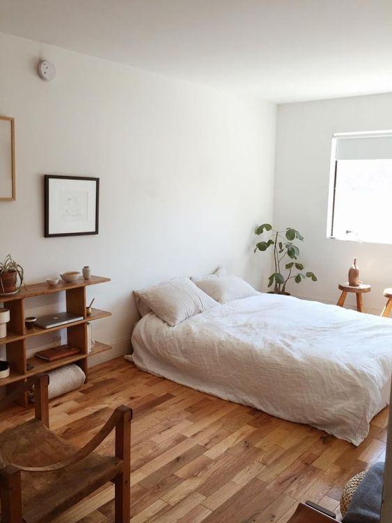 bed on floor design