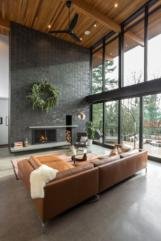 soothing large living room