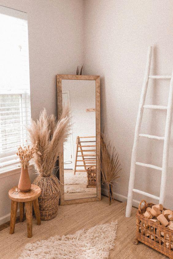 attractive corner of the room