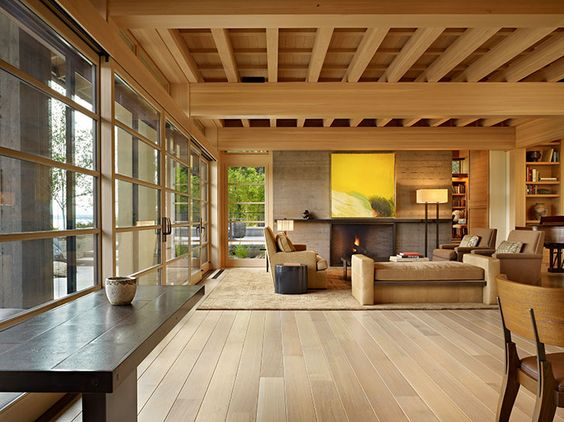 japanese house design with open-room concept