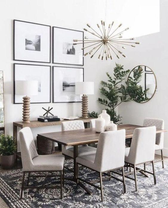 small dining room wall decor
