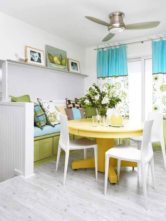 bright dining room tip