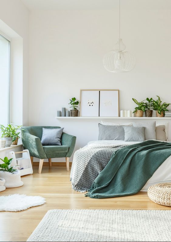 fresh bedroom decor