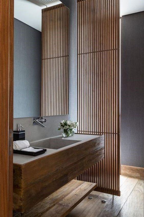 japandi bathroom