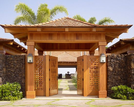 japanese house gate