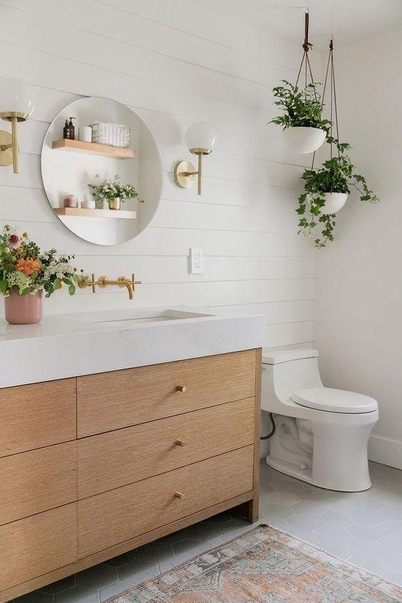 nature minimalist bathroom