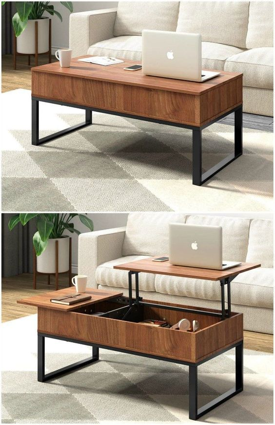 Coffee Tables with Built-In Storage
