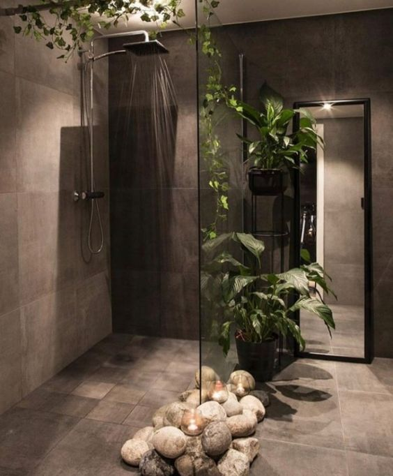 beautiful nature bathroom
