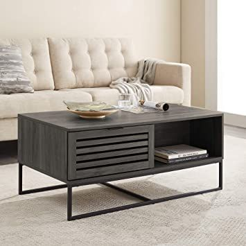 rectangle coffee table with drawer