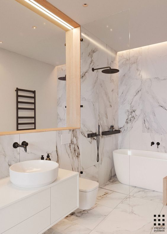 simple elegant bathroom