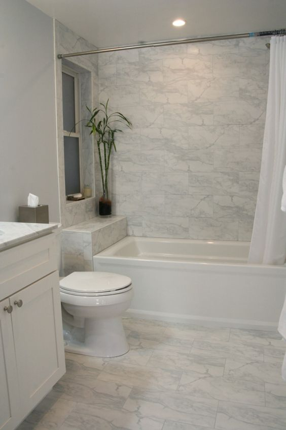 marble floor for elegant bathroom