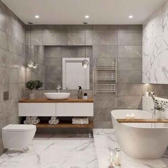 elegant small white bathroom