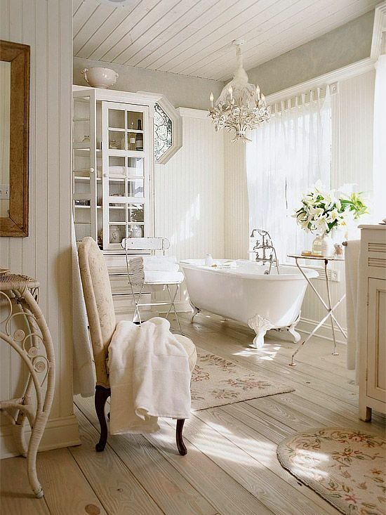 elegant vintage bathroom